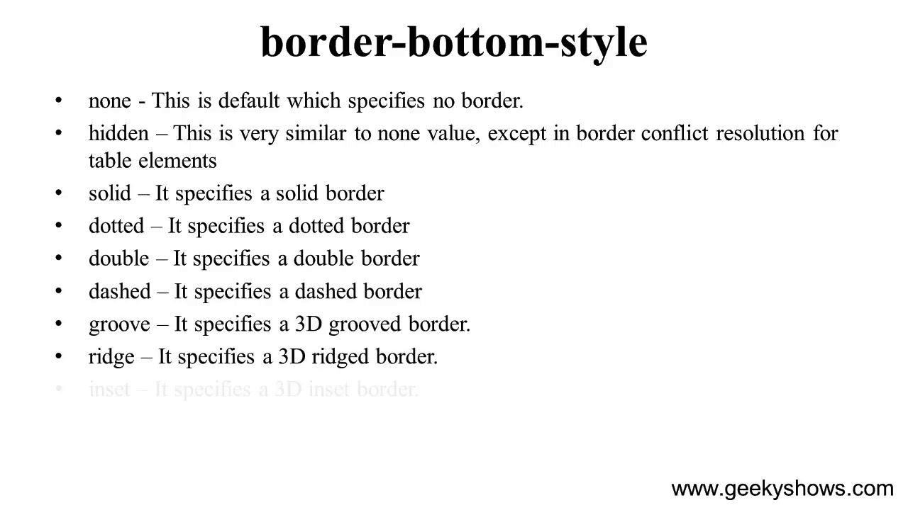 skirt-table-style-border-bottom