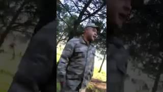 Manisa Alaşehir Ulaştırma 2.bölük Acemi Erlerin Vedası Adanalı Rdm Çvş