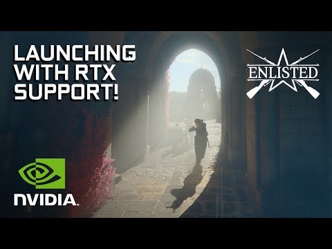 Enlisted - How RTX Brings the Multiplayer Scope to Life