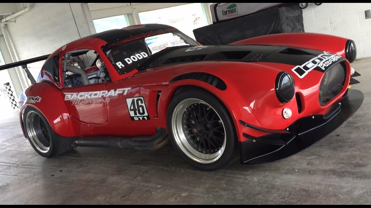 Backdraft Racing - Custom Cobra Kit Car Manufacturers