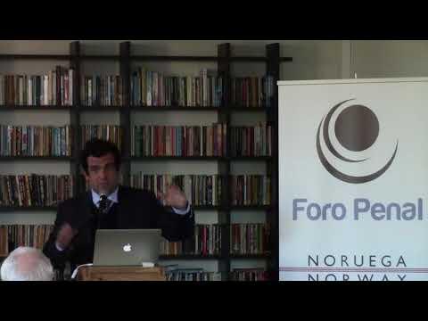 Alfredo Romero Director of NGO Foro Penal in Oslo - Norway