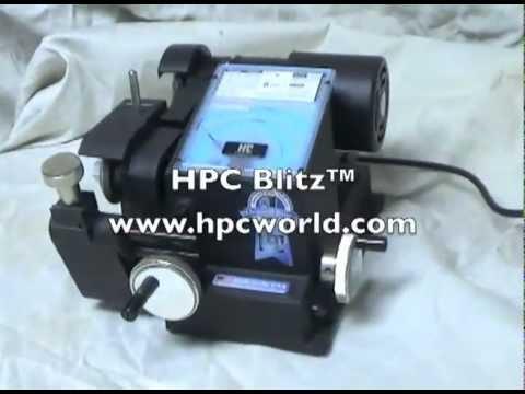 hpc blitz code machine