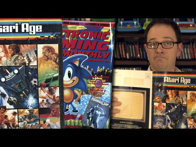 Video Game Magazines - Angry Video Game Nerd
