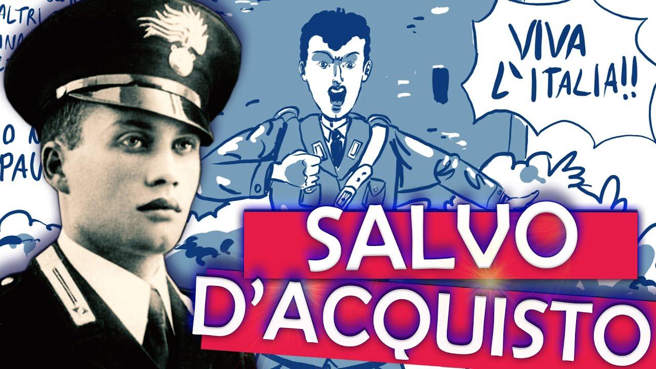 L'eroico Carabiniere napoletano che si sacrificò per 22 civili (Salvo D'Acquisto)