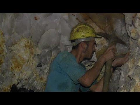 Mining for Tourmaline in Brazil
