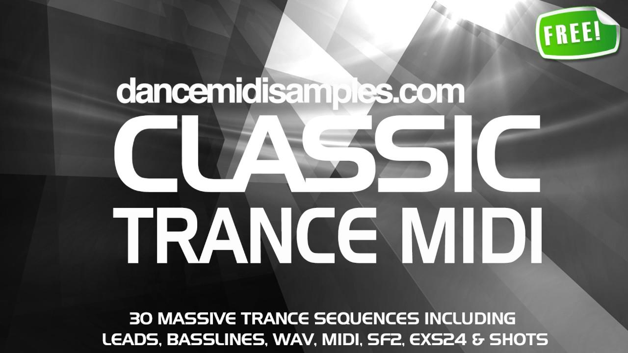 DMS Classic Trance MIDI Vol 1 - Free MIDI File Pack