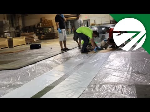 A Behind the Scenes Look at How a Turf Field Logo is Made