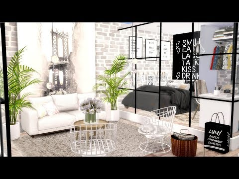 The Sims 4 | College Studio Apartment | Speed Build + Download Links