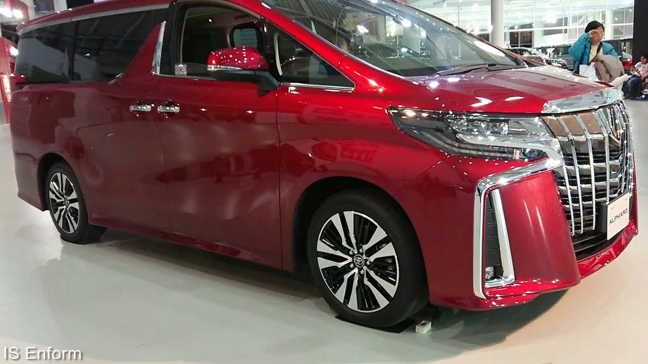 2020 Toyota Alphard Configurations