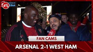 Arsenal 2-1 West Ham | Smash and Grab! (Troopz)