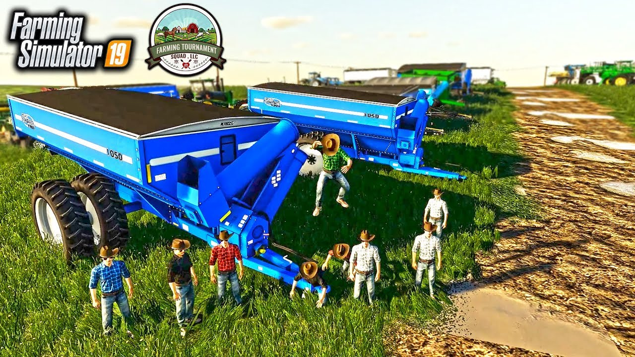 FARMING SIMULATOR TOURNAMENT AUCTION! STARTING WITH $5,000,000 & BIDDING  FOR LAND & EQUIPMENT