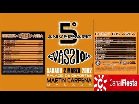 5º Aniversario Mundo Evassion Canal Fiesta Radio Martín Carpena Málaga, 2/3/2002