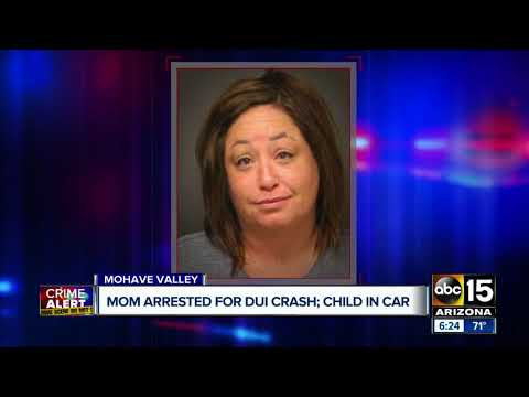 Mom arrested for DUI crash in Mohave Valley