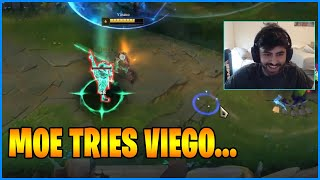 Moe Tries New Champion Viego...LoL Daily Moments Ep 1327