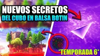 BALSA BOTIN EVENT *NEW CUBE SECRETS* SEASON 6 [THEORIAS] FORTNITE BATTLE ROYALE