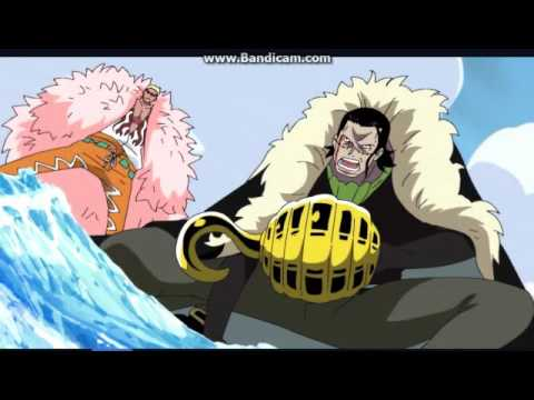 One piece crocodile and doflamingo vs Jozu Eng Dubbed