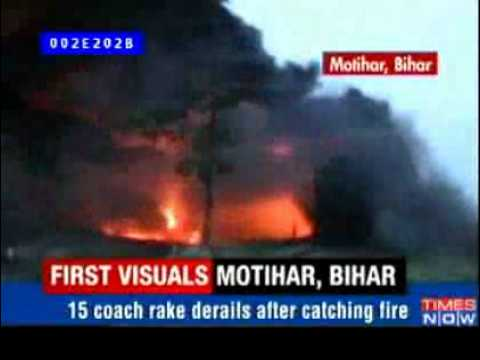 Maoists attack Railway network; indian Govt. sitting ducks
