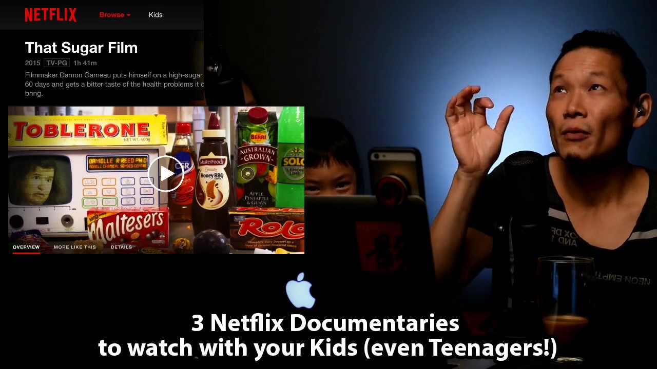 3 Netflix Documentaries to watch with your Kids (even Teenagers!)