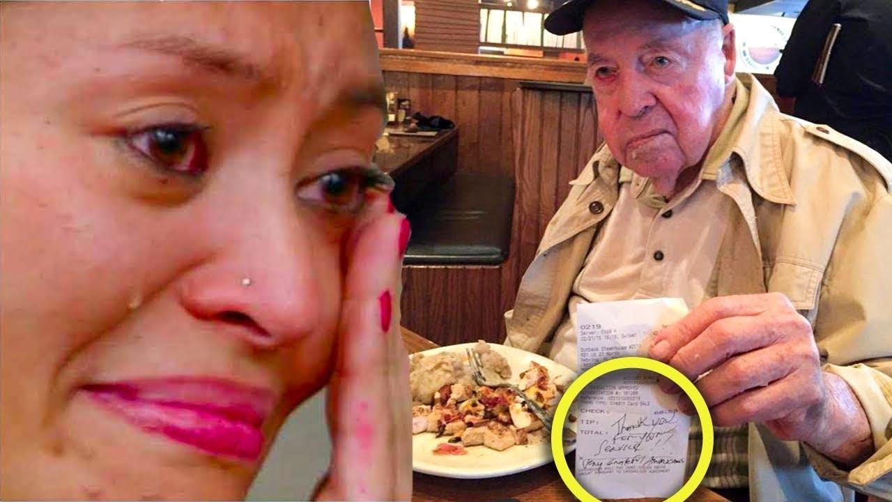 Kellnerin bediente jahrelang Rentner - Als er verschwand, erhielt sie einen schockierende Nachricht