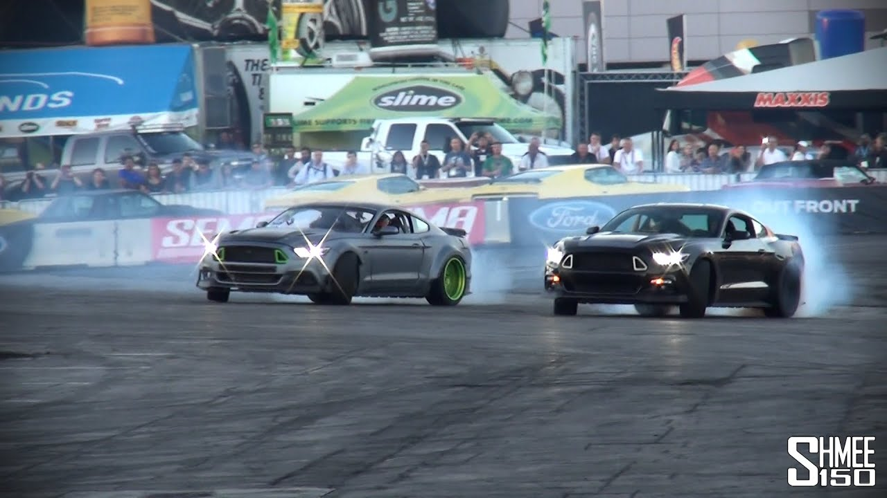 Ford Mustang Rtr And Spec Car Epic Drifting Show Youtube