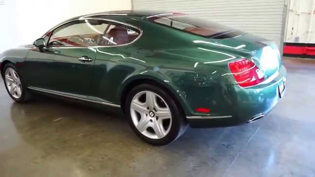 2005 bentley continental gt gt auto lounge - youtube