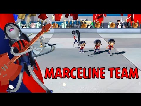 Cartoon Network Superstar Soccer Goal - MARCELINE TEAM - MARCELINE'S GOLD TROPHY