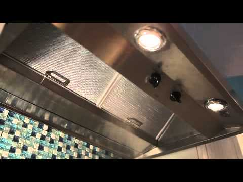 GE Cafe Range Hood Video  YouTube