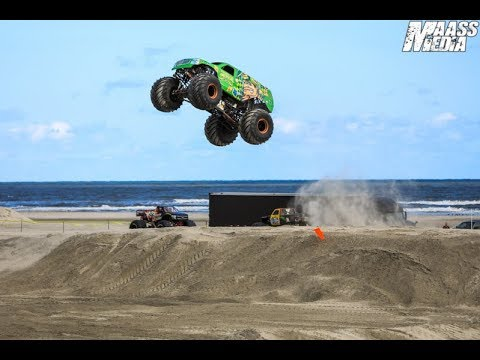 TMB TV: Monster Trucks Unlimited 8.10 - Monster Truck Beach Races - Wildwood, New Jersey (v2)
