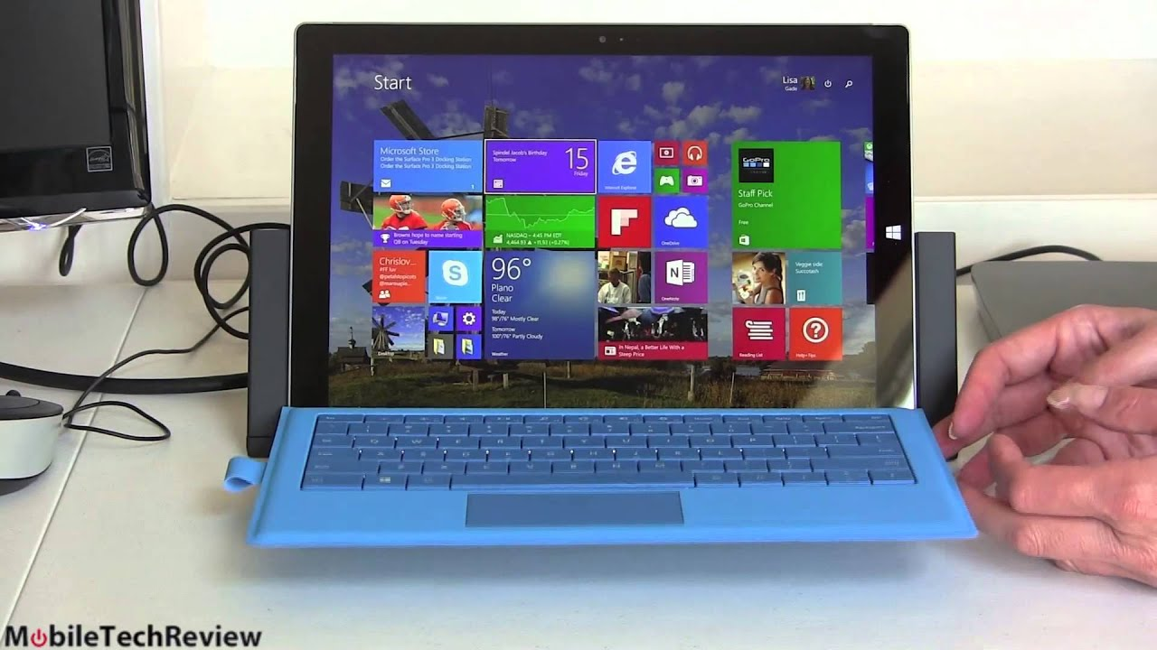 Microsoft Surface Pro 3 Docking Station Review Youtube