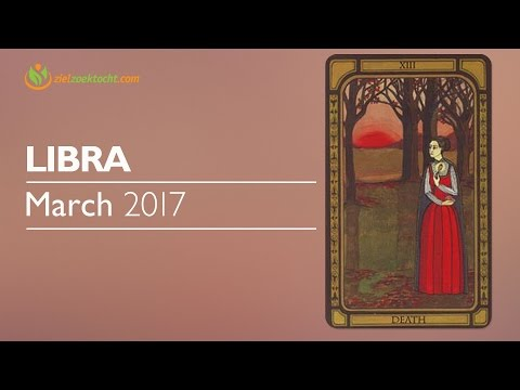 Libra March 2017 Psychic Tarot Horoscope Reading 💝Follow your Instincts toward people & places