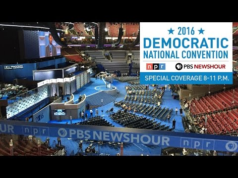 PBS NewsHour/NPR Democratic National Convention Special - Day 4 CAPTIONED