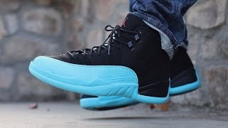"Air Jordan 12 Retro ""gamma"" (on Feet)"