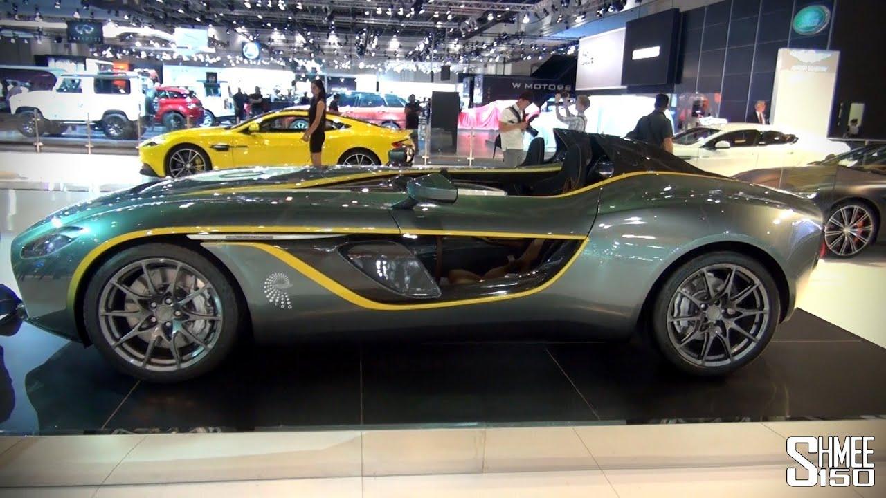 aston martin cc100, v12 vantage s, q series vanquish volante