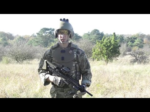 British Army - Future Soldier Vision (FSV) Personal Equipment Unveiled [1080p]