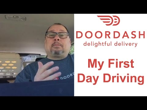 DoorDash Driver Review - My First Day as a DoorDash Driver (
