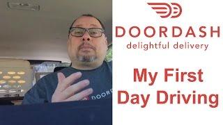 DoorDash Driver Review  My First Day as a DoorDash Driver (Dasher)  DoorDash Promo Code