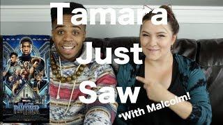 Black Panther - Tamara Just Saw
