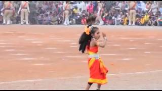 Cute Little Girl Dancing on Oriya song , 26 January , Jagdalpur , Chhattisgarh