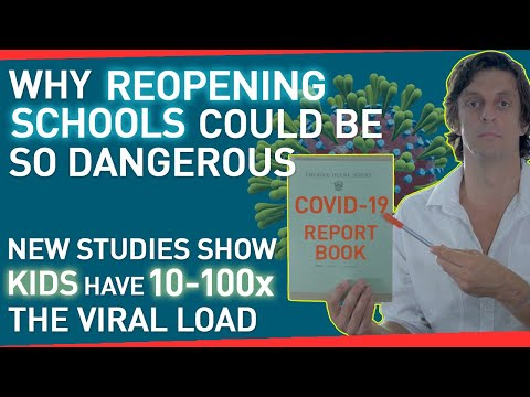 Why Reopening Schools Could Be So Dangerous: New Studies Show Children Have 10-100x The Viral Load