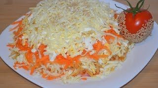 Мой любимый салат! ОЧЕНЬ ВКУСНЫЙ легкий витаминный салат!