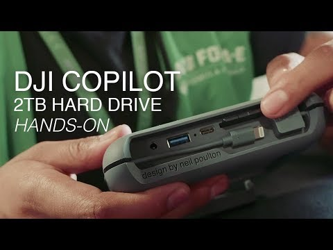 LaCie DJI Copilot - The Best External Hard Drive For Travel?