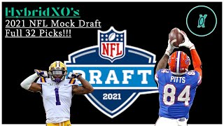 NFL Mock Draft 2021 ( Full 32 Picks With Highlights )