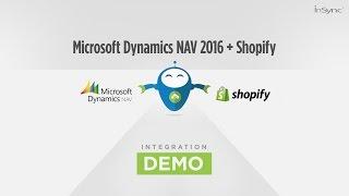 Microsoft Dynamics NAV 2016 and Shopify Integration