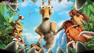 Ice Age 3 Dawn of the Dinosaurs | Full Movie Game | ZigZag Kids HD