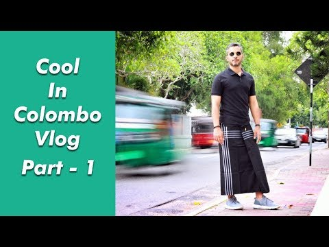 Colombo, Sri Lanka Vlog | Travel Vlog | Riaan George   | Part 1