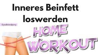 Inneres Beinfett loswerden I schlanke Oberschenkel I Workout zuhause I Abnehmen