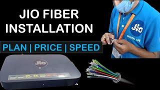 Jio Fibre Installation | Price, Plans and Speed of jio fibre | Plan details in description | Hindi