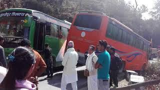 हेर्नुस थानकोटबाट बस खसेको लाईभ भिडियो || Live video of bus accident in Thankot