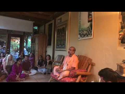 Srila BB Bodhayan Vrinda Meditation Garden, Miami, Florida July 19 2017