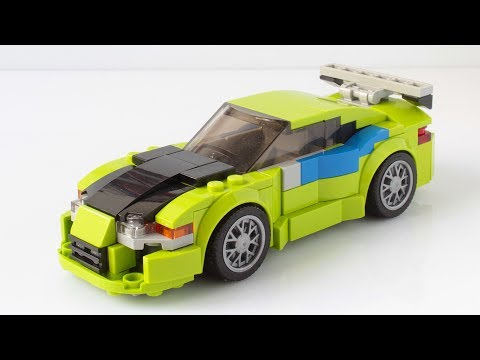 Lego Fast and Furious Mitsubishi Eclipse MOC